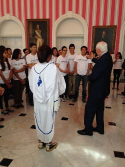 Northern Youth Abroad meets Governor General of Canada