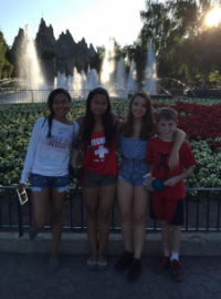 Kyla, alisha, host family, at wonderland